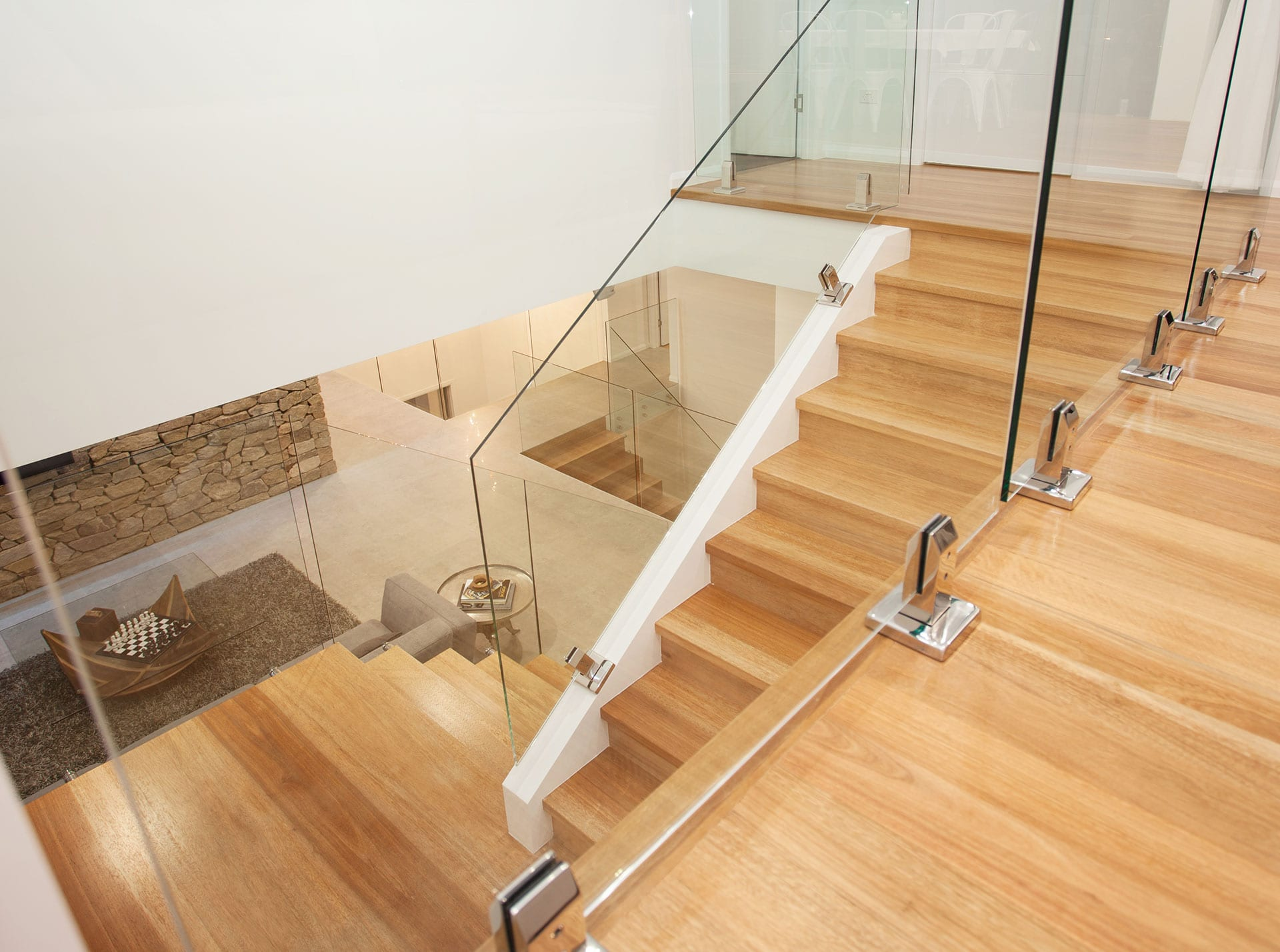 Coral Ridge, stair case