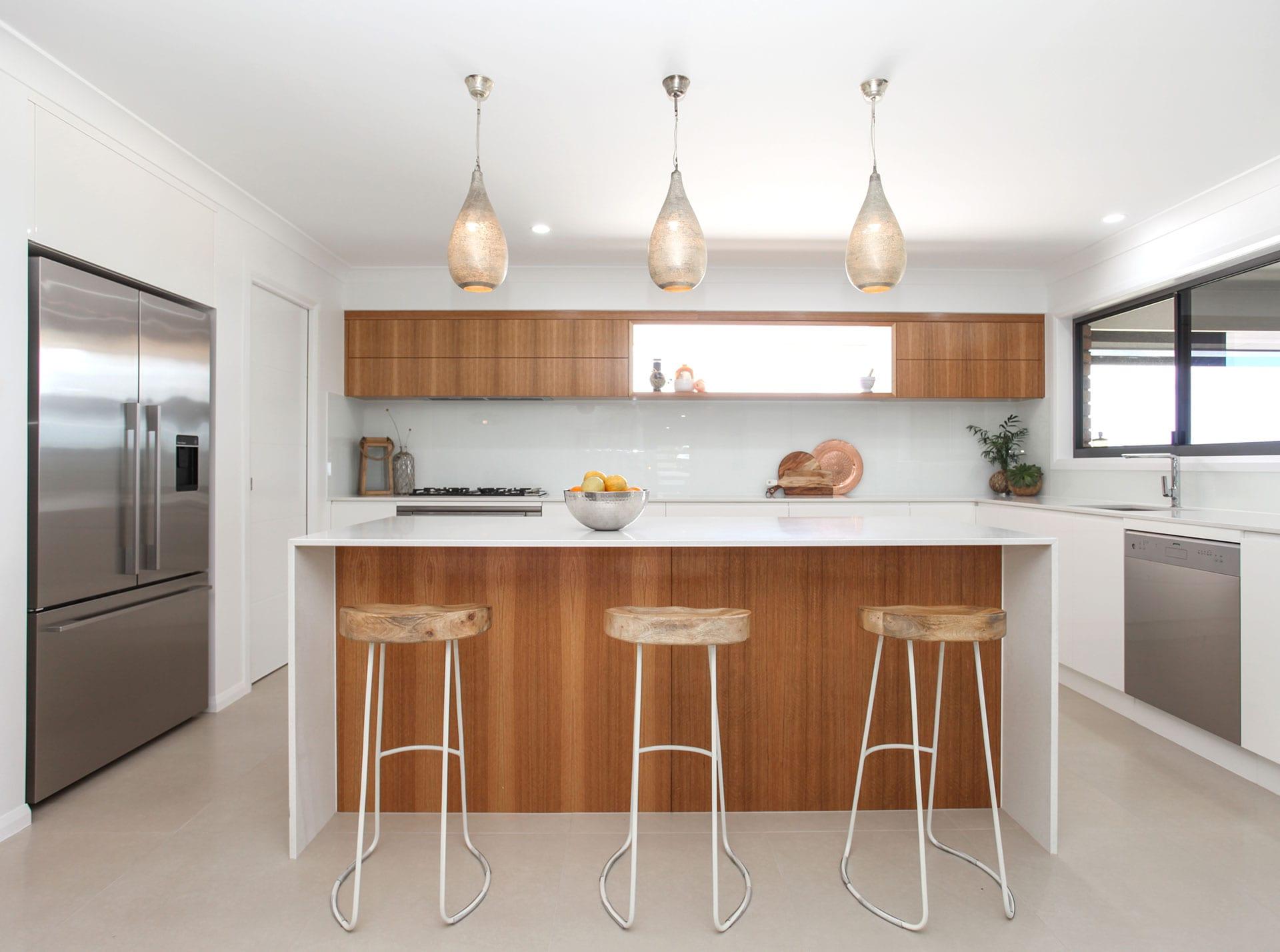 Roy Court, kitchen