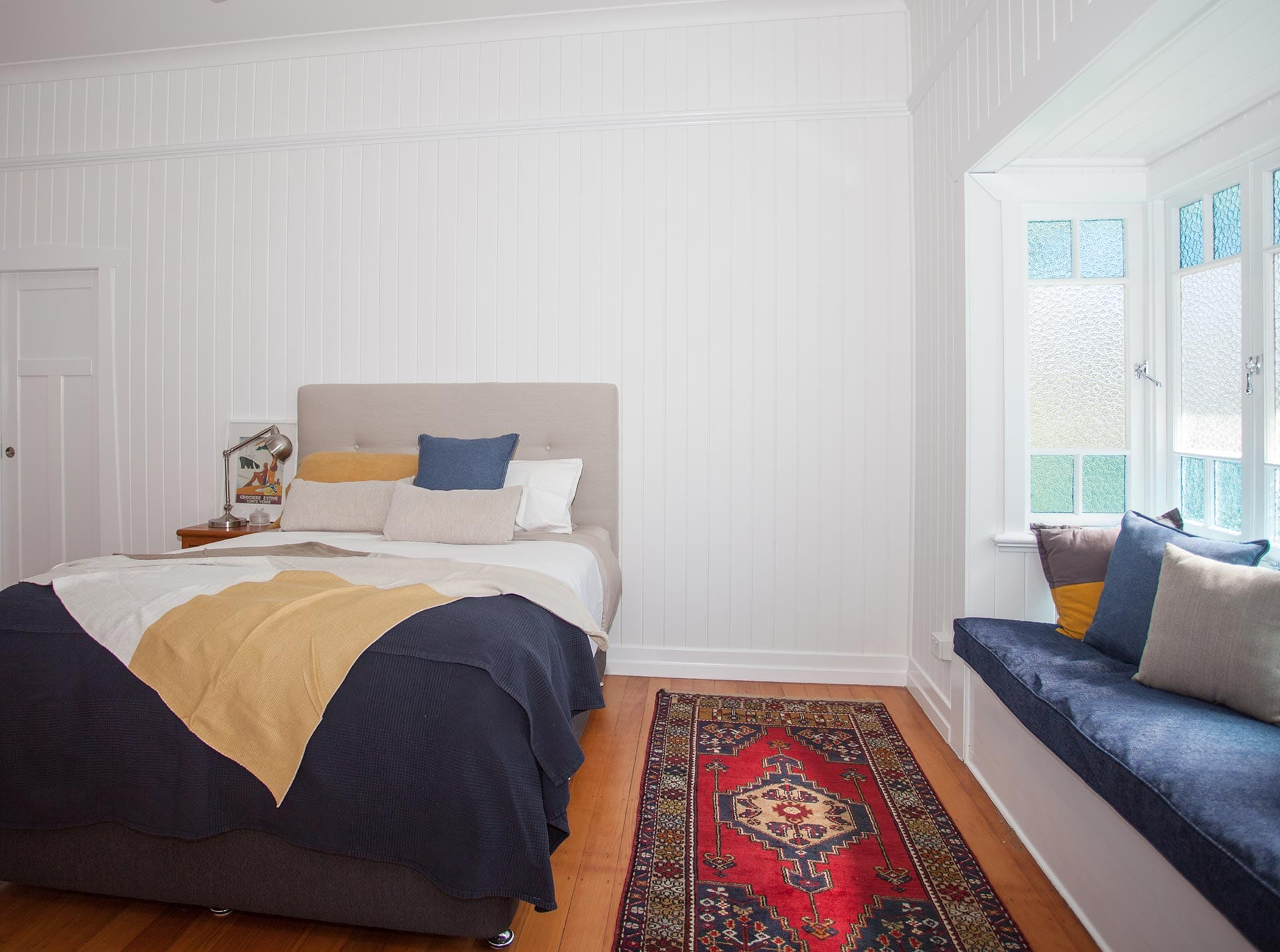 Hinton Street bedroom with bench seat