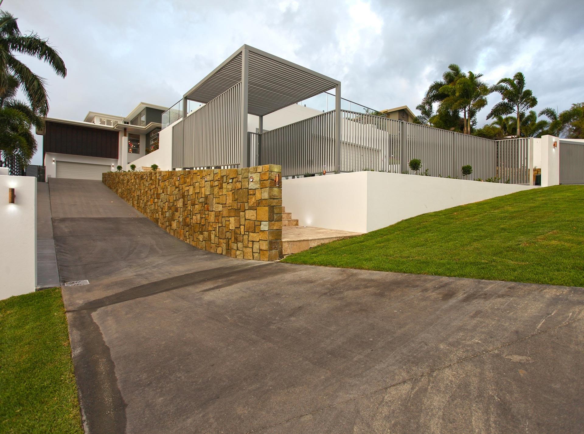 Coral RIdge Driveway