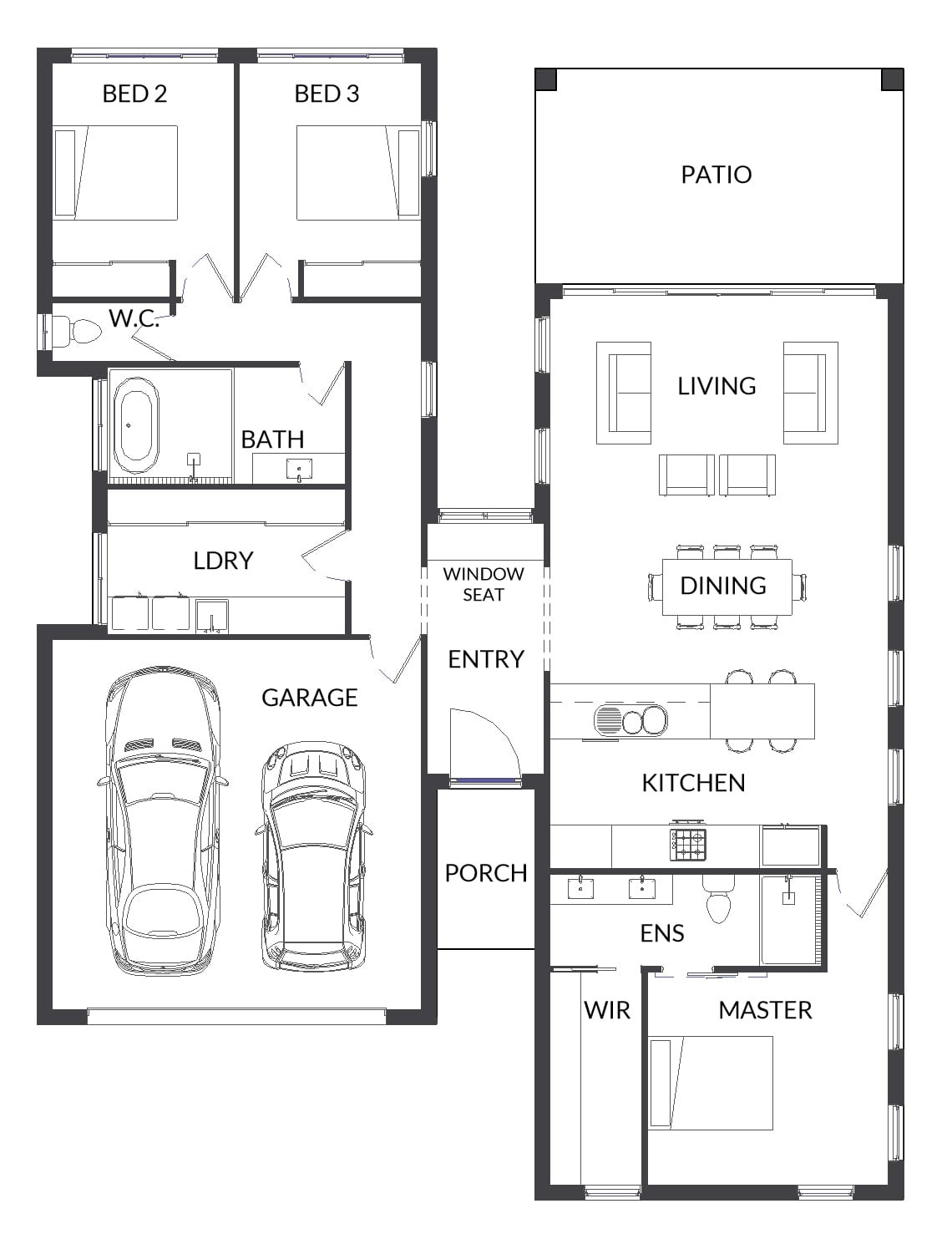 Airlie 501 HSA1 Floor plan