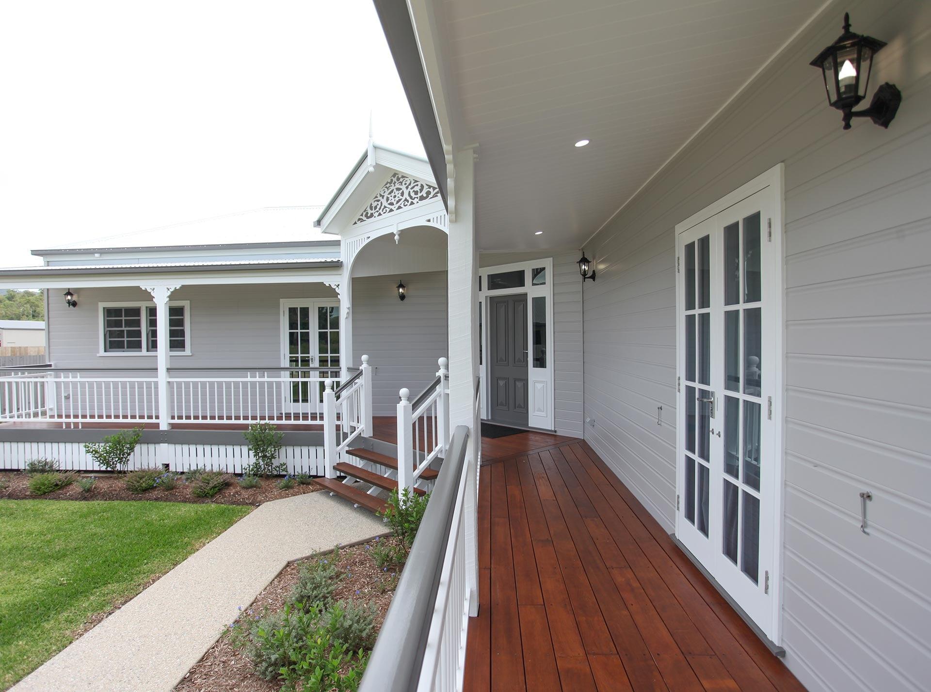 Beames verandah
