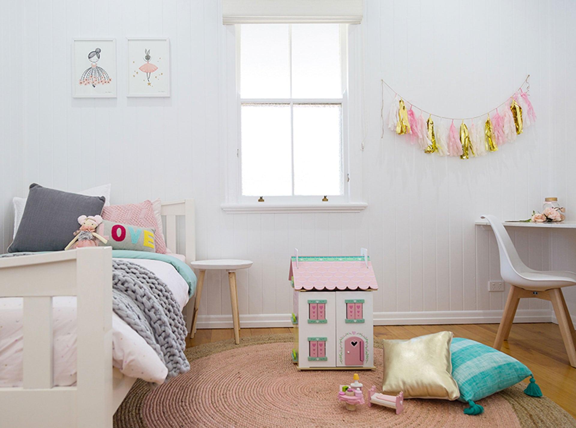 McIntyre girls bedroom