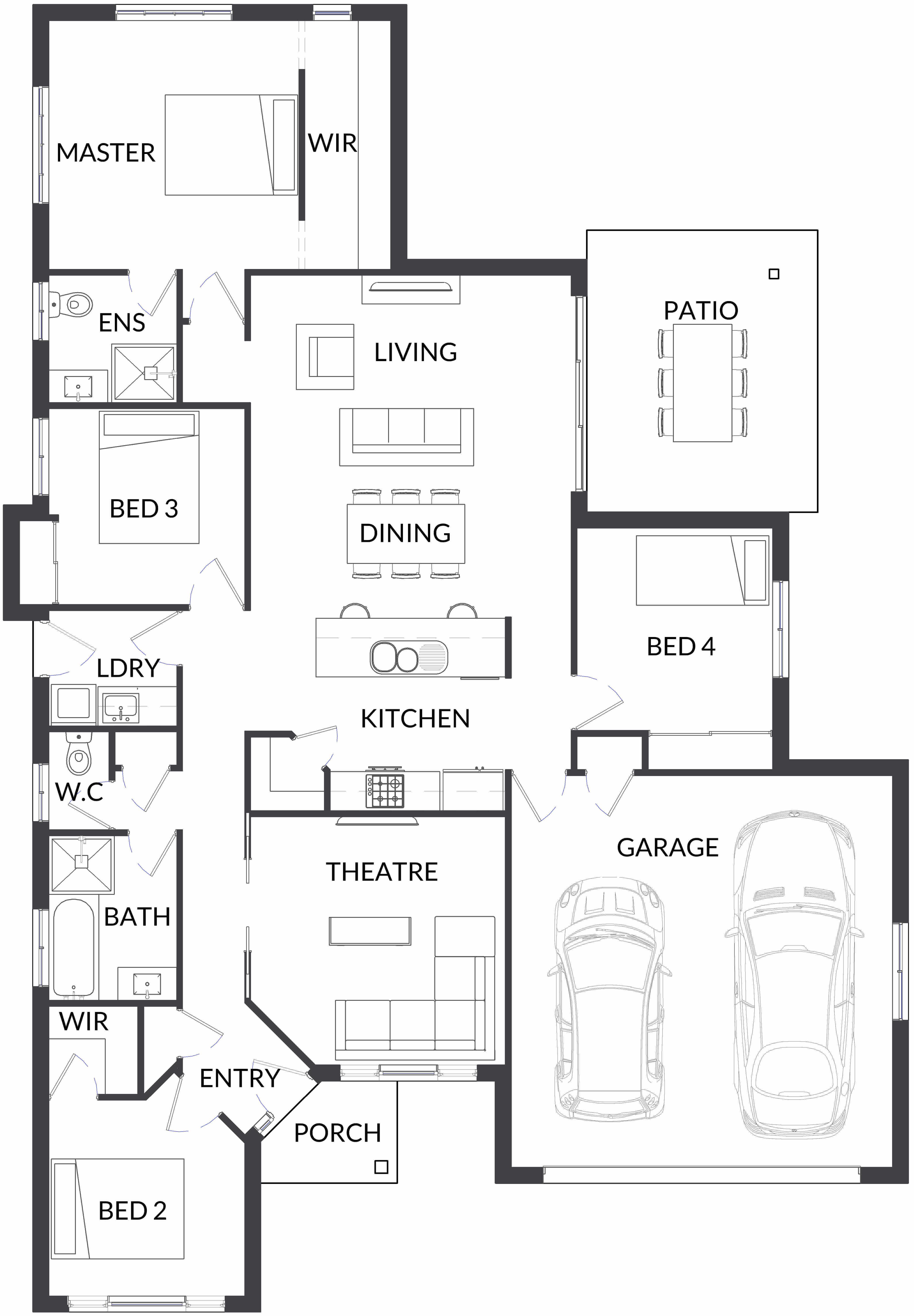 Woodwark BSL2 Floor plan